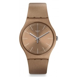 Swatch Unisexuhr New Gent Powderbayang SUOM111