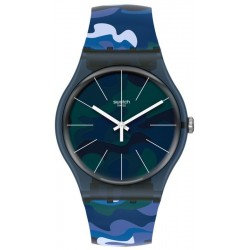 Swatch Unisexuhr New Gent Camouclouds SUON140