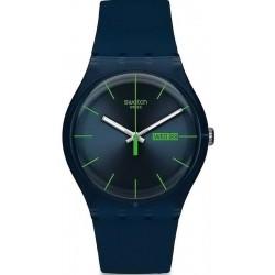 Swatch Unisexuhr New Gent Blue Rebel SUON700