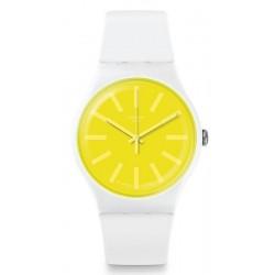 Swatch Unisexuhr New Gent Lemoneon SUOW165