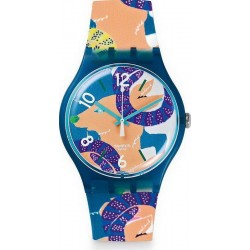 Swatch Unisexuhr New Gent The Goat's Keeper SUOZ189