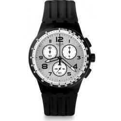 Kaufen Sie Swatch Herrenuhr Chrono Plastic Nocloud SUSB103 Chronograph
