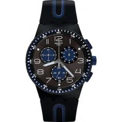 Kaufen Sie Swatch Herrenuhr Chrono Plastic Kaicco SUSB406 Chronograph
