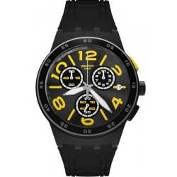 Kaufen Sie Swatch Unisexuhr Chrono Plastic Pneumatic SUSB412 Chronograph