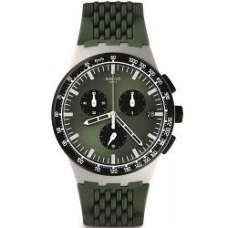 Kaufen Sie Swatch Herrenuhr Chrono Plastic Sperulino SUSM402 Chronograph