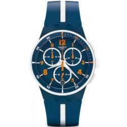 Kaufen Sie Swatch Herrenuhr Chrono Plastic Whitespeed SUSN403 Chronograph