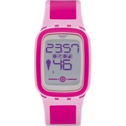 Kaufen Sie Swatch Damenuhr Digital Touch Zero One Pinkzero SUVP100