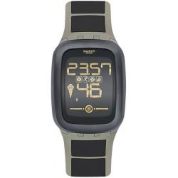 Kaufen Sie Swatch Herrenuhr Digital Touch Zero One Earthzero SUVT100