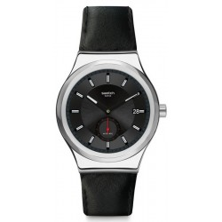 Swatch Herrenuhr Irony Sistem51 Petite Seconde Black SY23S400 Automatik