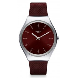 Swatch Damenuhr Skin Irony Skinburgundy SYXS120