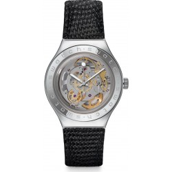 Swatch Herrenuhr Irony Automatic Body & Soul Leather YAS100D