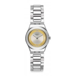 Swatch Damenuhr Irony Lady Golden Ring YSS328G