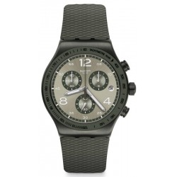 Swatch Herrenuhr Irony Chrono Turf Wrist YVM404 Chronograph