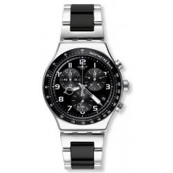 Swatch Herrenuhr Irony Chrono Speed Up YVS441G Chronograph