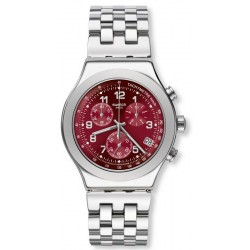 Swatch Unisexuhr Irony Chrono Secret Doc YVS456G Chronograph