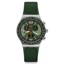 Swatch Unisexuhr Irony Chrono Forest Grid YVS462 Chronograph