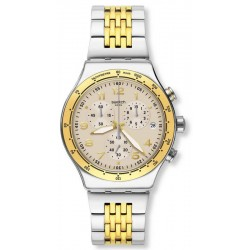 Swatch Unisexuhr Irony Chrono Casual Chic YVS467G Chronograph
