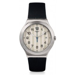 Swatch Herrenuhr Irony Big Classic Côtes Silver YWS437