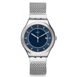 Swatch Herrenuhr Irony Big Classic Blue Icone YWS449M