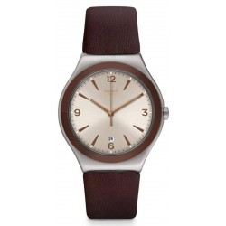 Swatch Herrenuhr Irony Big Classic O'Choco YWS450