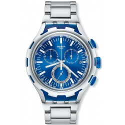 Swatch Herrenuhr Irony Xlite Endless Energy YYS4001AG Chronograph