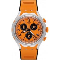 Swatch Herrenuhr Irony Xlite Caccia YYS4010 Chronograph