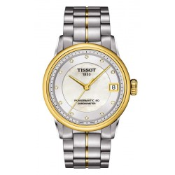 Tissot Damenuhr Luxury Powermatic 80 COSC T0862082211600 Diamanten kaufen