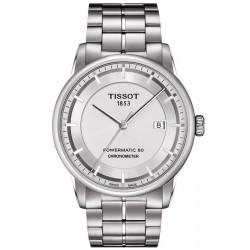 Tissot Herrenuhr T-Classic Luxury Powermatic 80 T0864081103100