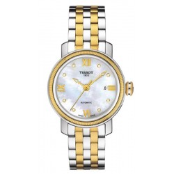 Tissot Damenuhr Bridgeport Automatic T0970072211600 Diamanten kaufen